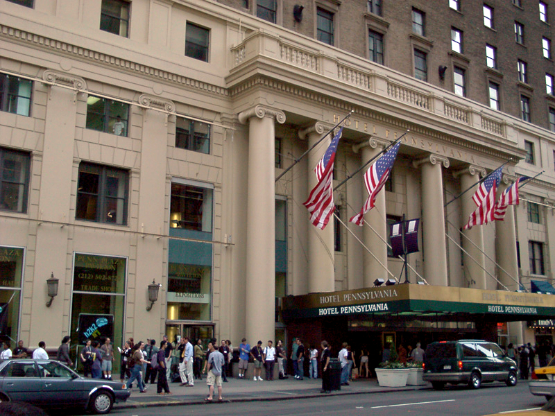 Hotel Pennsylvania | Things to do in NYC