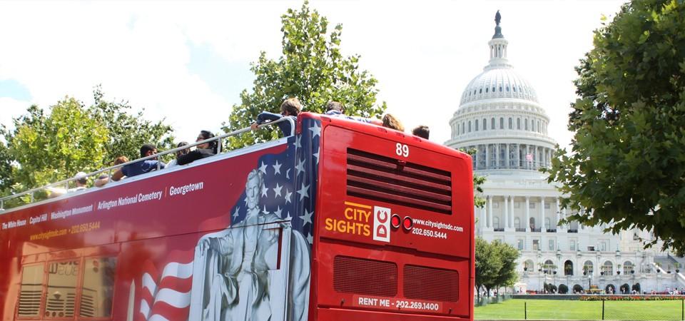 City Sights DC | Washington DC Bus Tour