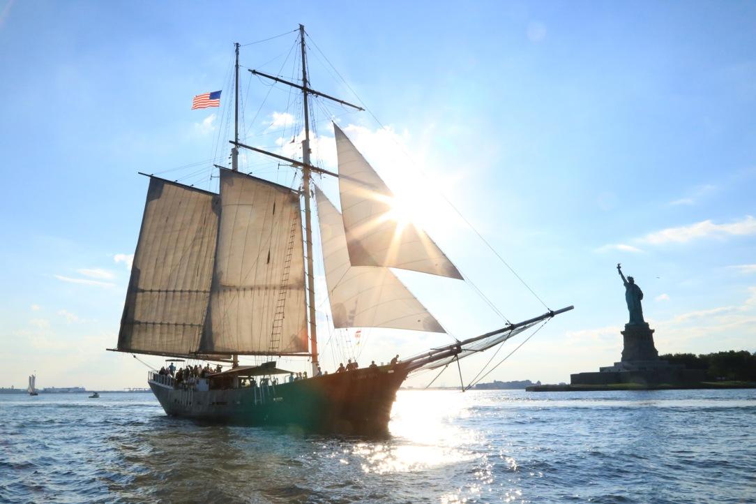 Clipper City Tall Shim   Manhattan by Sail